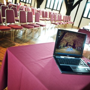 Conference facilities at the Hospitium