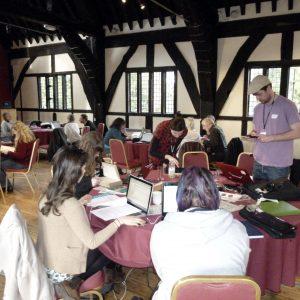 An informal workshop at the Hospitium