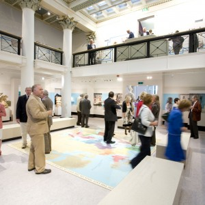 The Central Hall at the Yorkshire Museum - ideal for a drinks reception